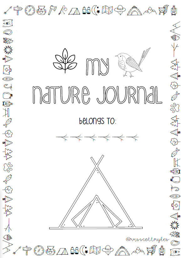 Nature journal title page