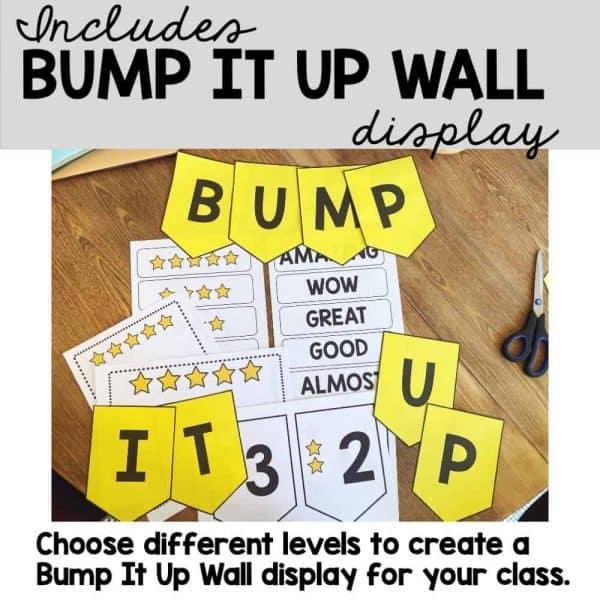 free bump it up wall display