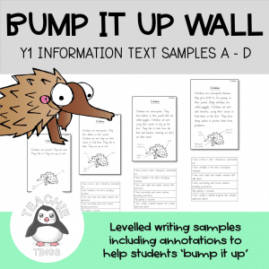 Bump it up wall information report
