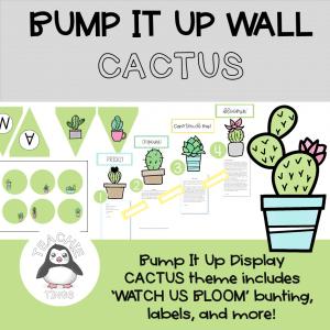 bump it up wall cactus theme