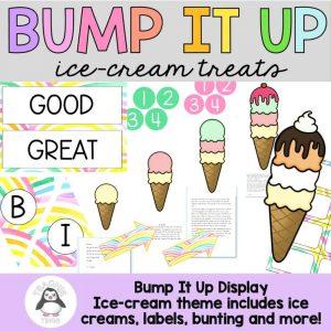 ice cream bump it up wall