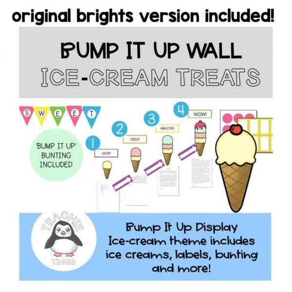 ice-cream bump it up wall