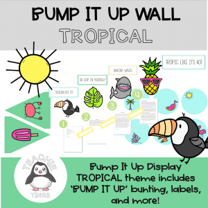 tropical bump it up wall