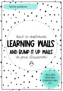 Learning Walls