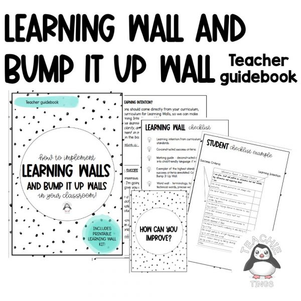 learning wall and bump it up wall