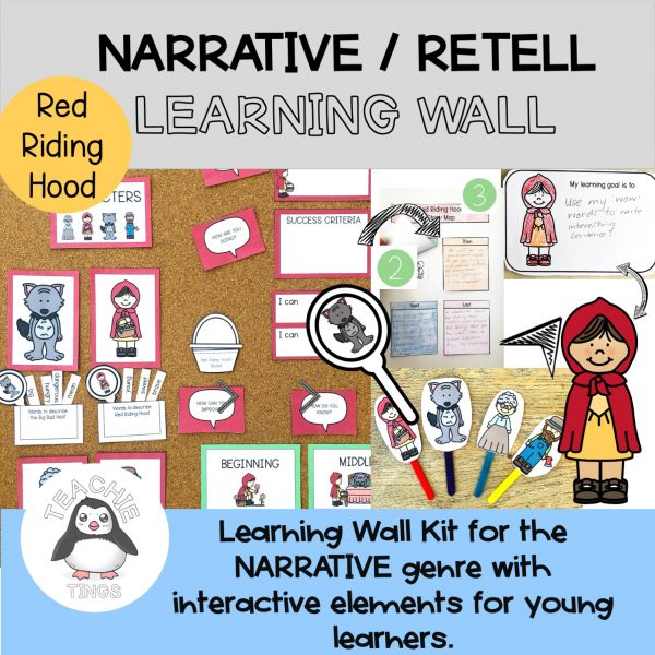 Learning Wall Red Riding Hood