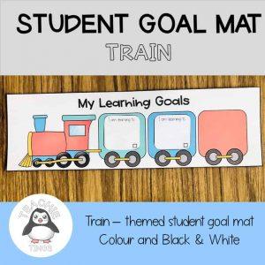 student goal mat