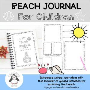 beach journal - nature journal