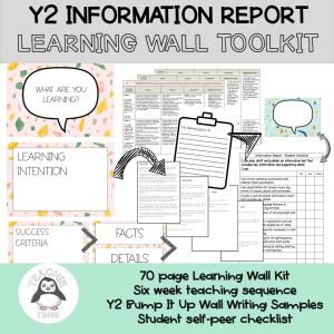 Informtaion Report Learning Wall - year 2