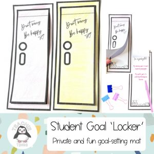 student goal mat locker