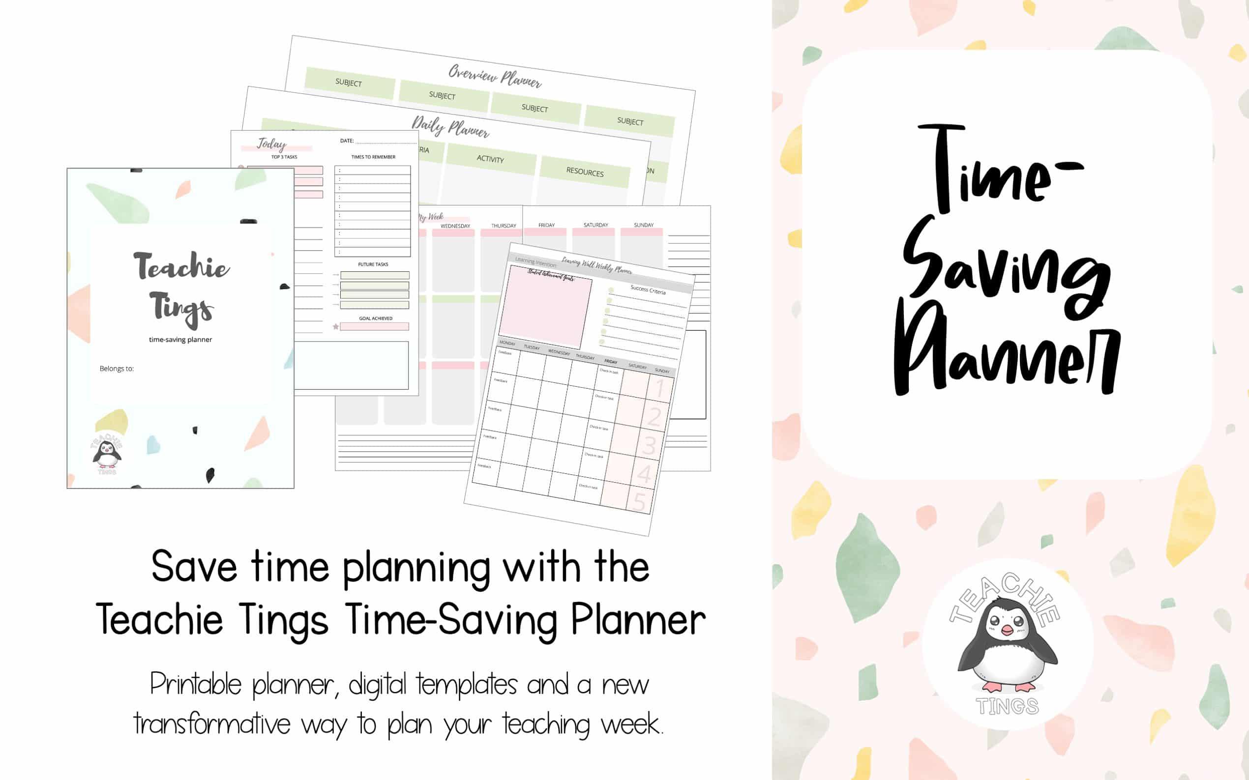 time-saving teacher planner