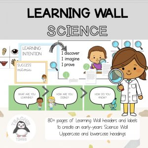 science learning wall