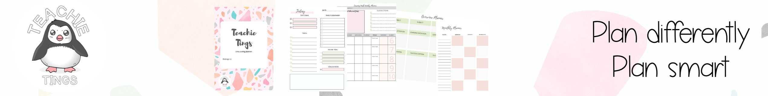 time-saving teaching planner