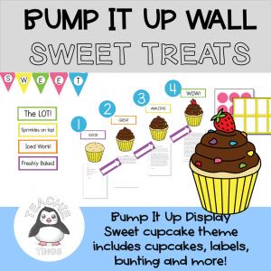 cupcake bump it up wall