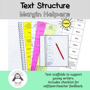 text structure margin helpers