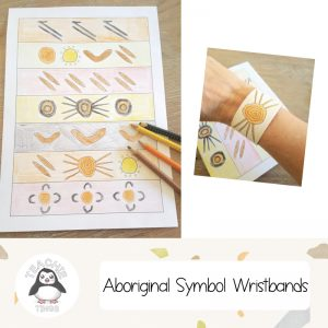 aboriginal symbol writstbands