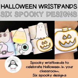 halloween wristbands