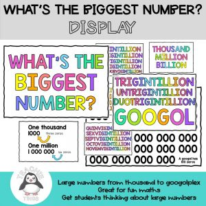 whats the biggest number