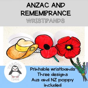 ANZAC Day and Remembrance day wristbands