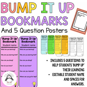 bump it up bookmarks