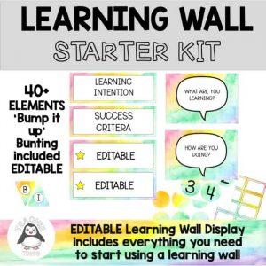 Learning Wall Starter Kit