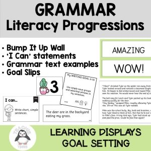 literacy progressions grammar