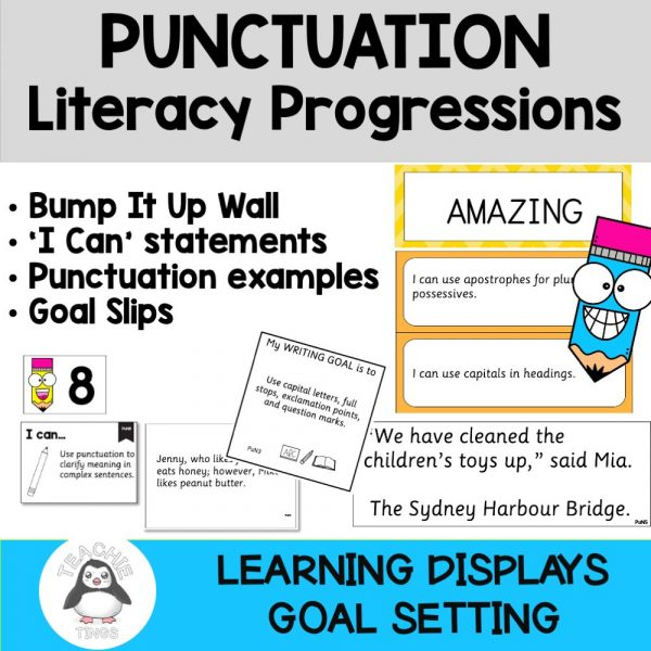 Literacy Progressions Punctuation