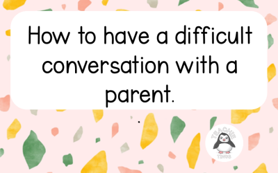 How to Have a Difficult Conversation with a Parent