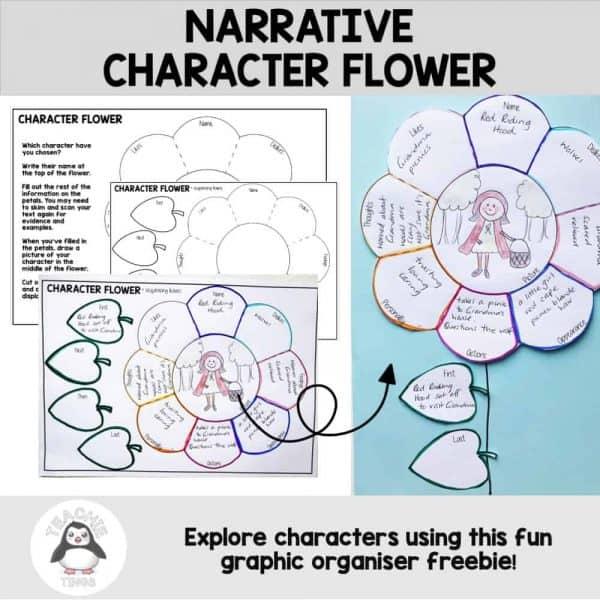 narrative character flower