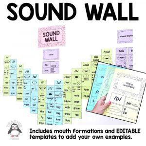 sound wall phonics