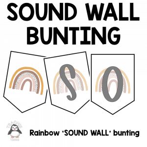 sound wall bunting