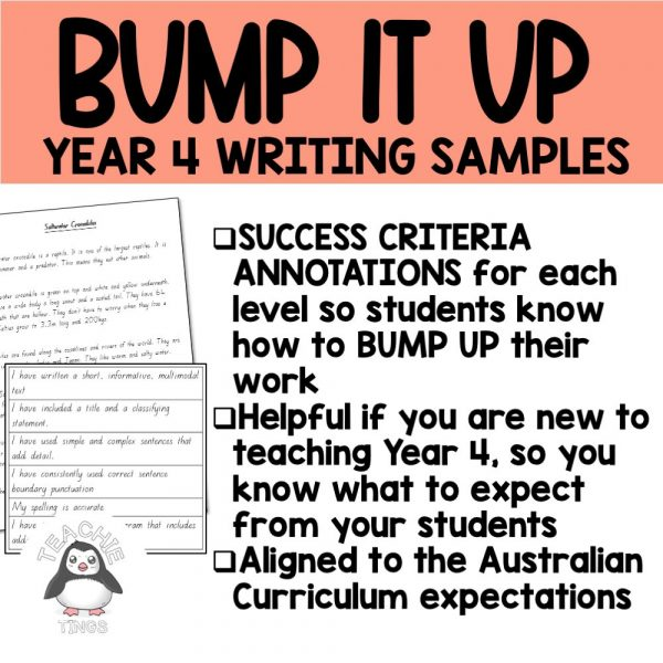 Year 4 writing samples