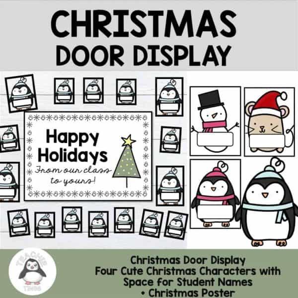 christmas door display
