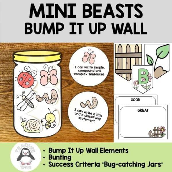 mini-beasts bump it up wall