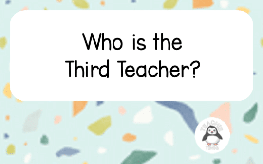 The Third Teacher in Your Classroom