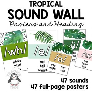 tropical sound wall