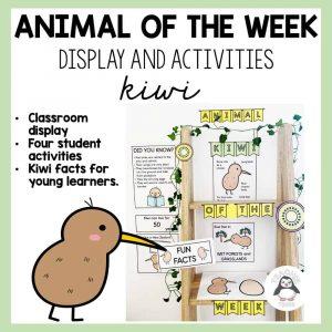 animal of the week kiwi